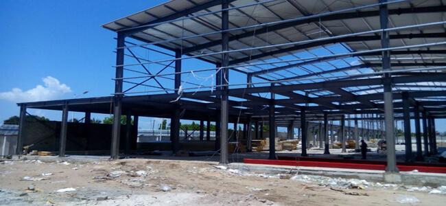 Steel Workshop Building for Tanzania,China Steel Buildings