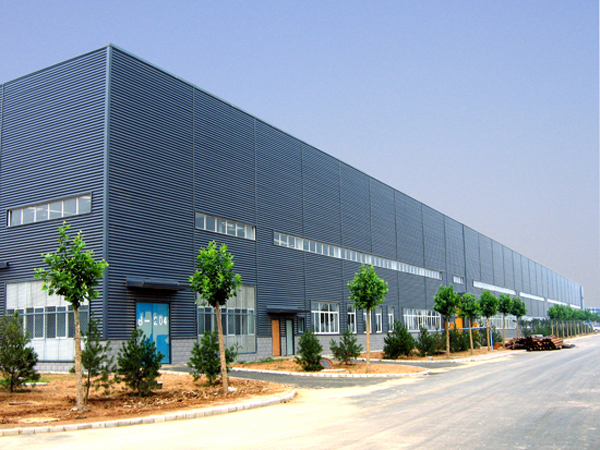 Prefabricated Factory Building on Warehouse Steel Structure Building